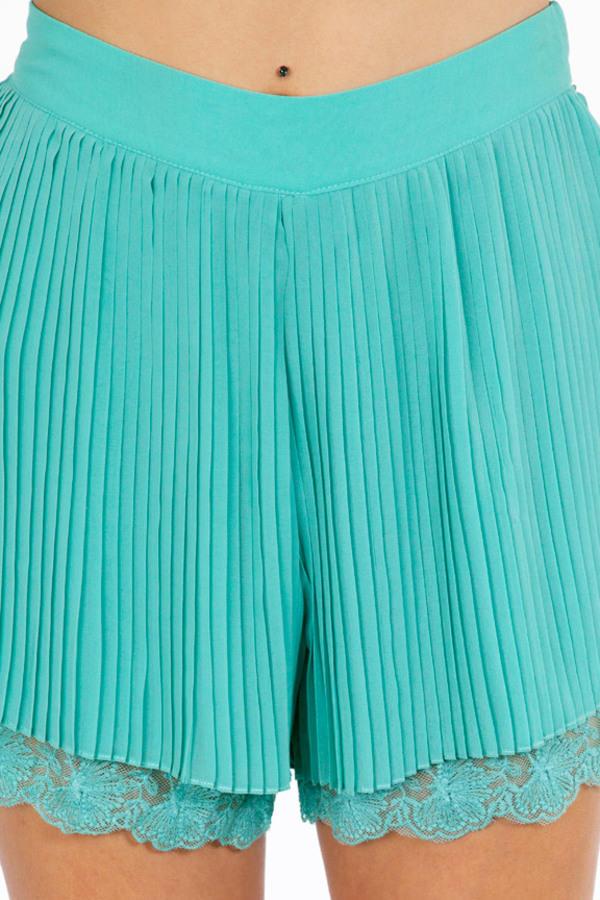 Please Pleats Me Shorts