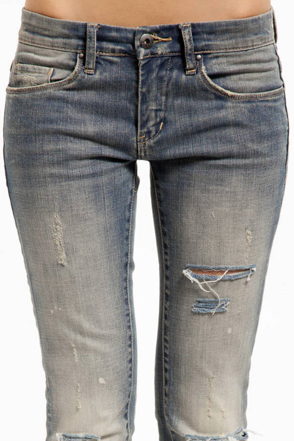 Blank Relaxed Straight Leg Jeans