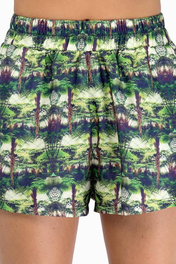 Oh My Love Palm Tree Shorts
