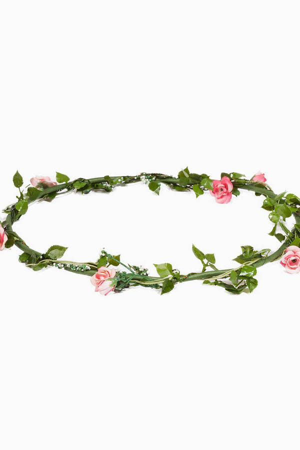 Meadow Fairy Floral Crown