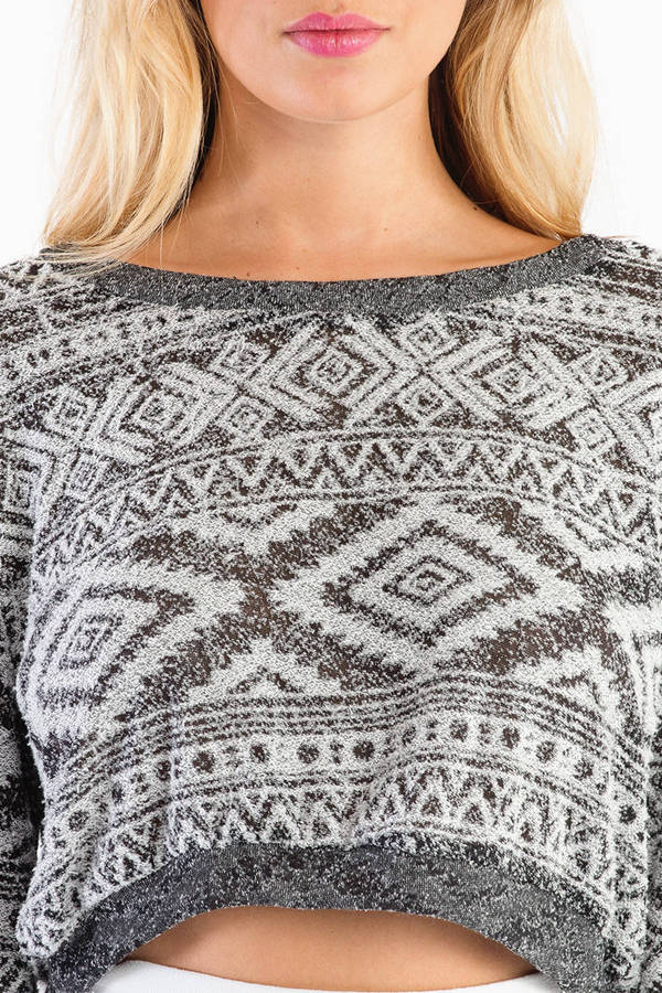 Carolina Crop Sweater