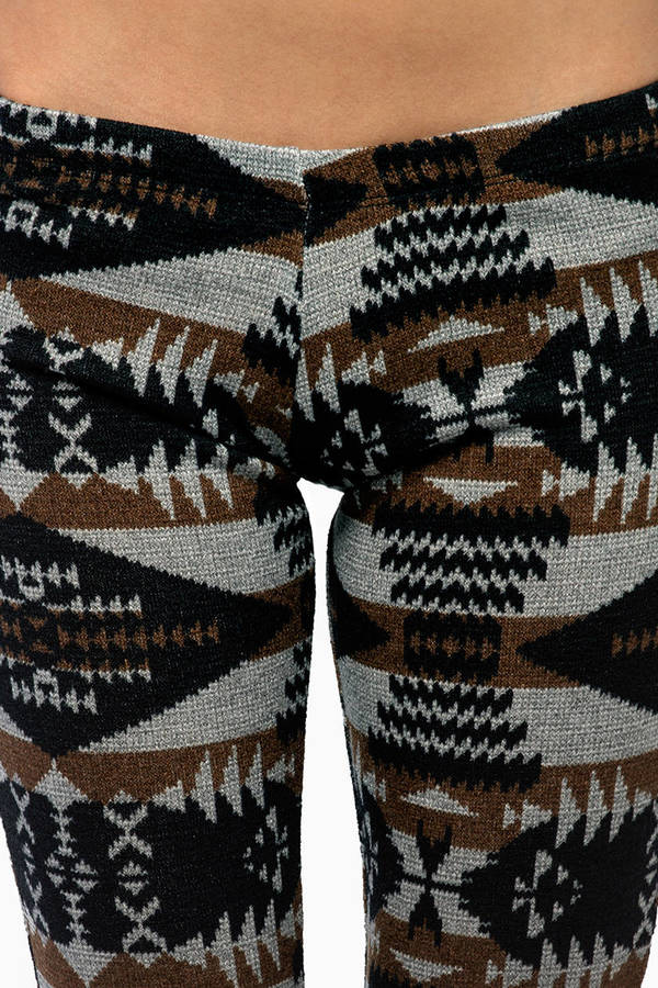 Aztec Flare Bottom Pants