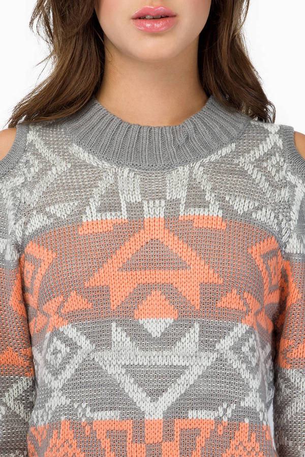 Trickly Tribal Sweater