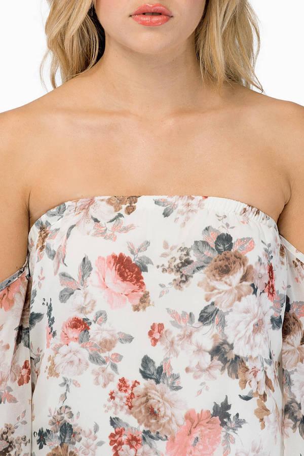 Clio Floral Top