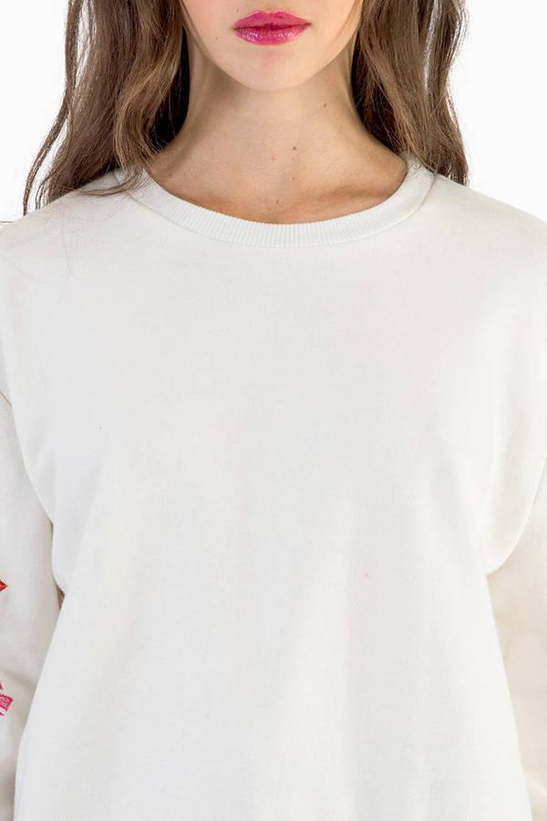 Florin Floral Sweatshirt