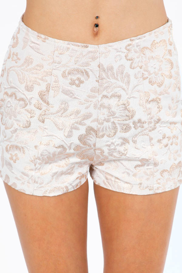 For The Floral Shorts