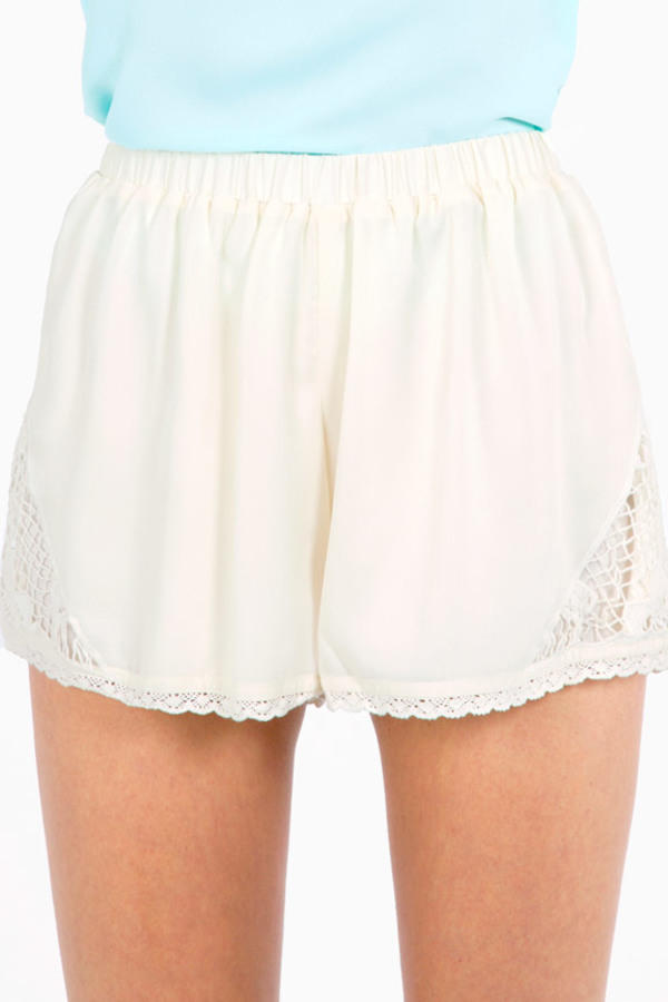 From Outer Lace Shorts