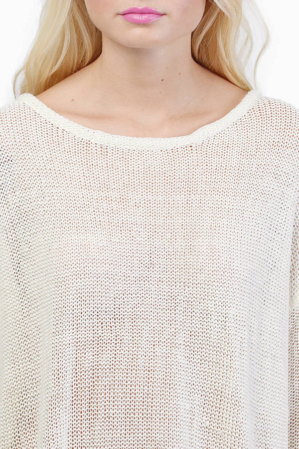 Glam Patched Sweater