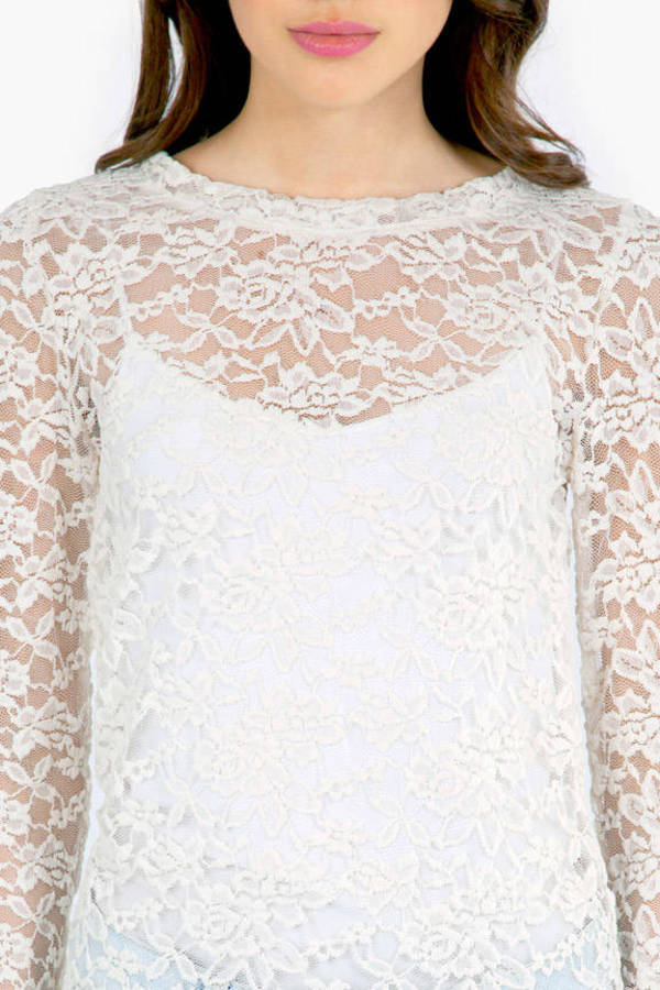 Lady in Lace Top