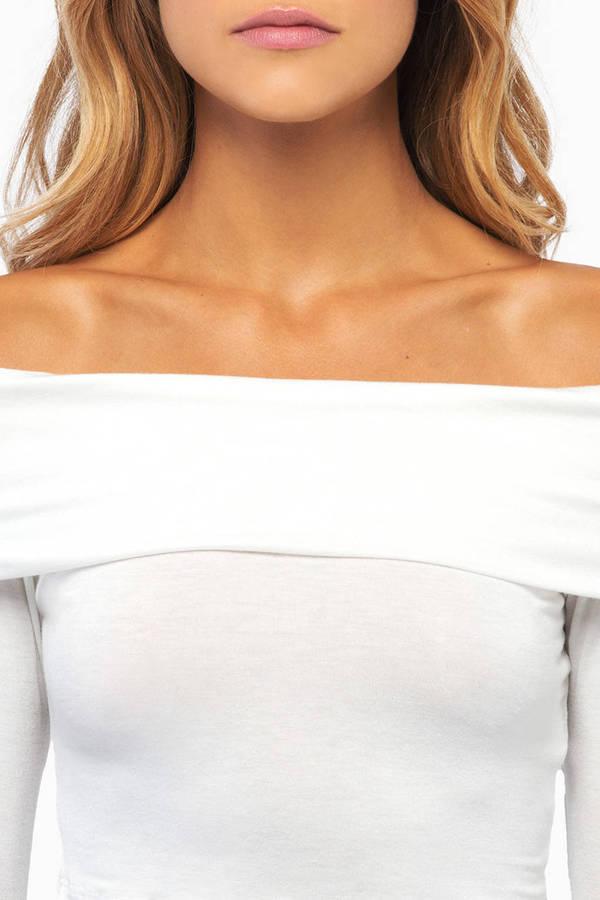 Looking Over Shoulders Top
