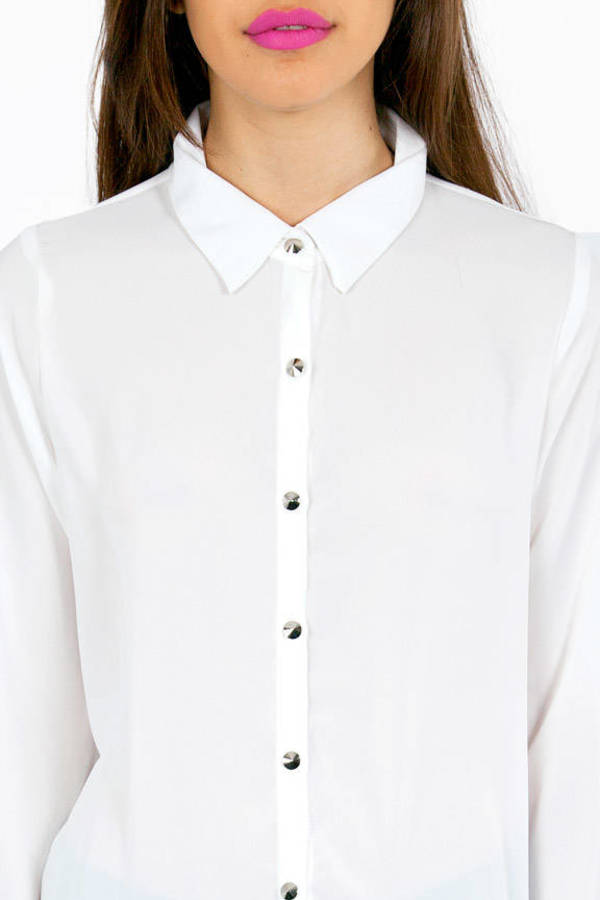 Luv Me Back Button Up Shirt
