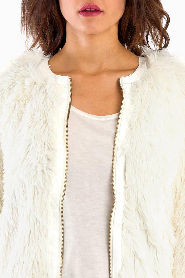Ellison Make a Fuzz Jacket