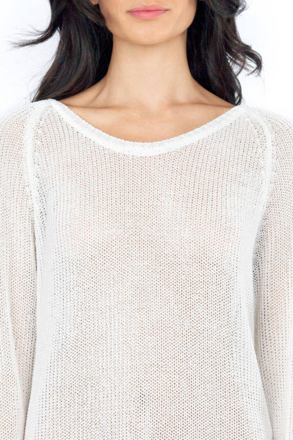 Partly Cloudy Sweater
