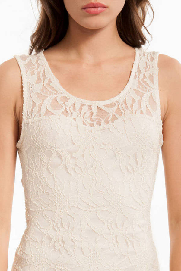 Sweetheart Lace Open Back Dress