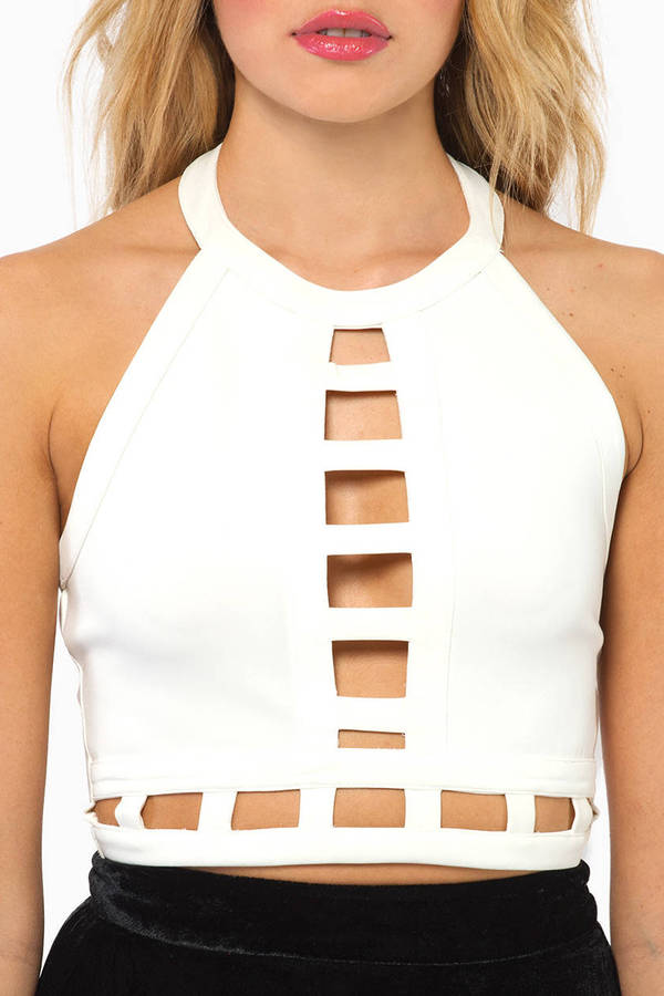 Through It All Crop Top