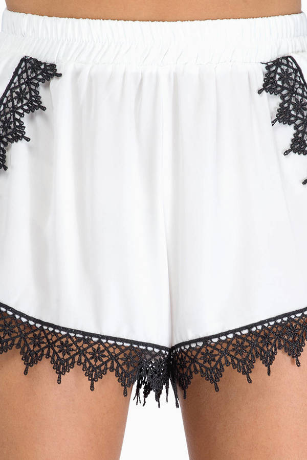 Top Secret Lace Shorts