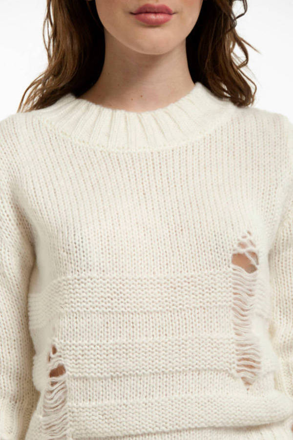 Vintage Crochet Sweater