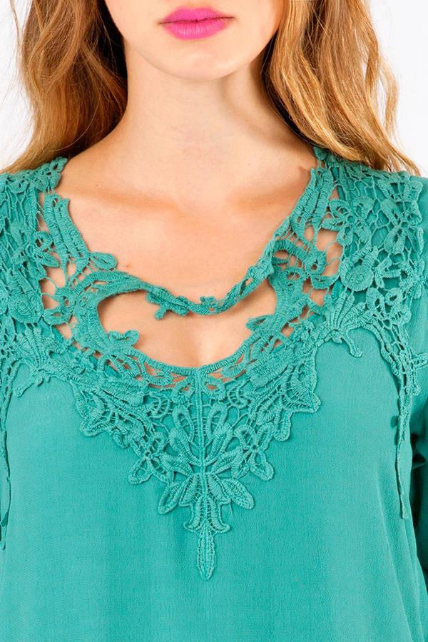 Renalie Crochet Tunic