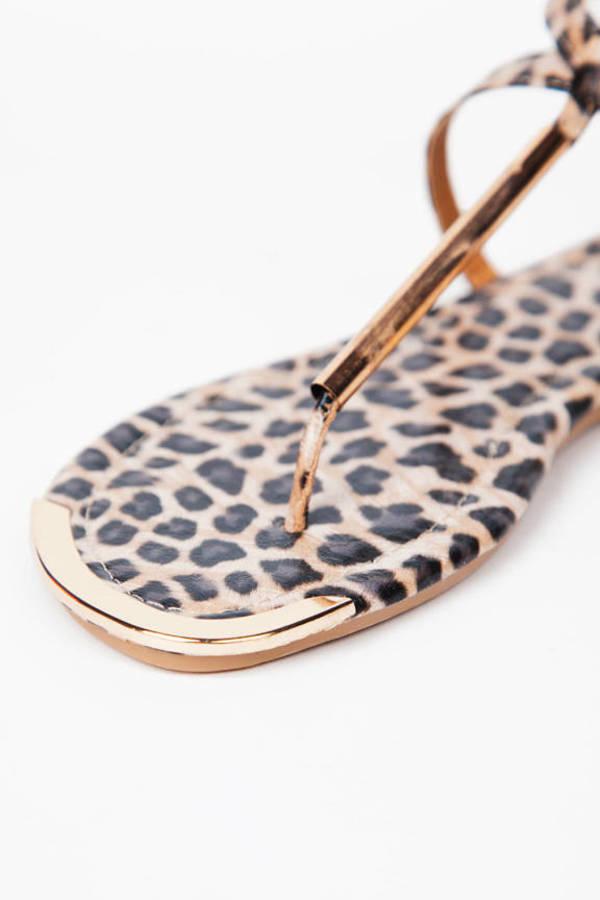 Metal Front Sandal