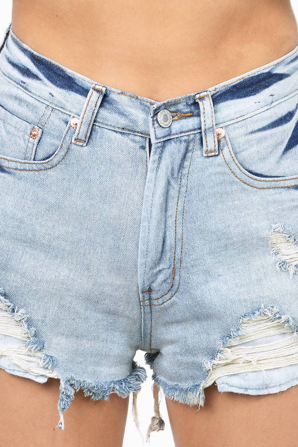 Cabana Denim Shorts