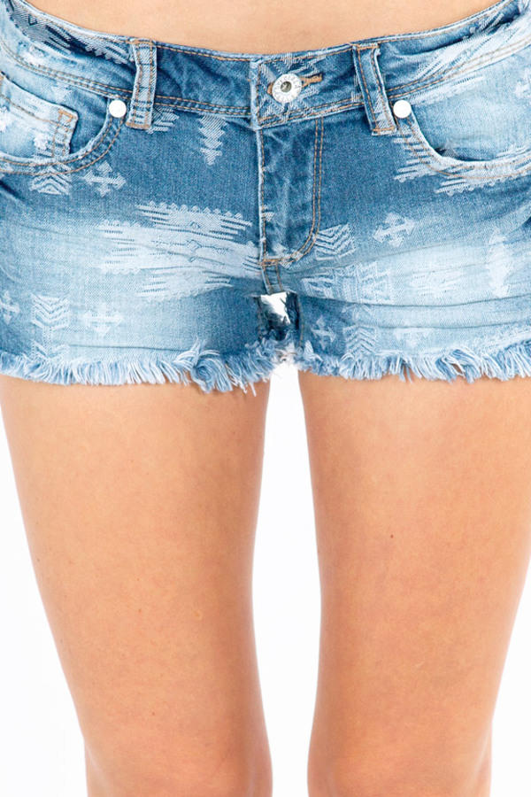 Hidden Gem Denim Shorts