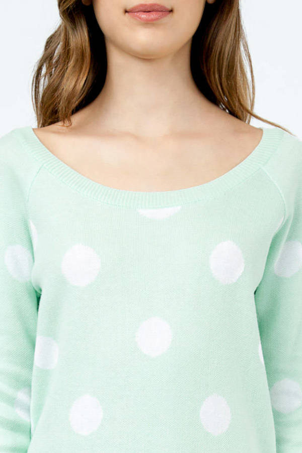 Lucca Couture Dot-O-Rama Sweater
