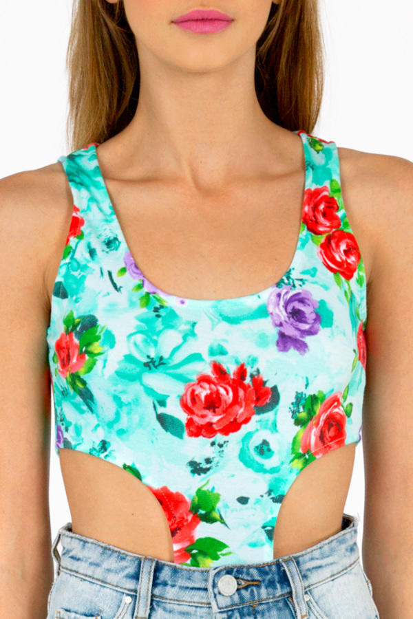 Floral I Know Bodysuit