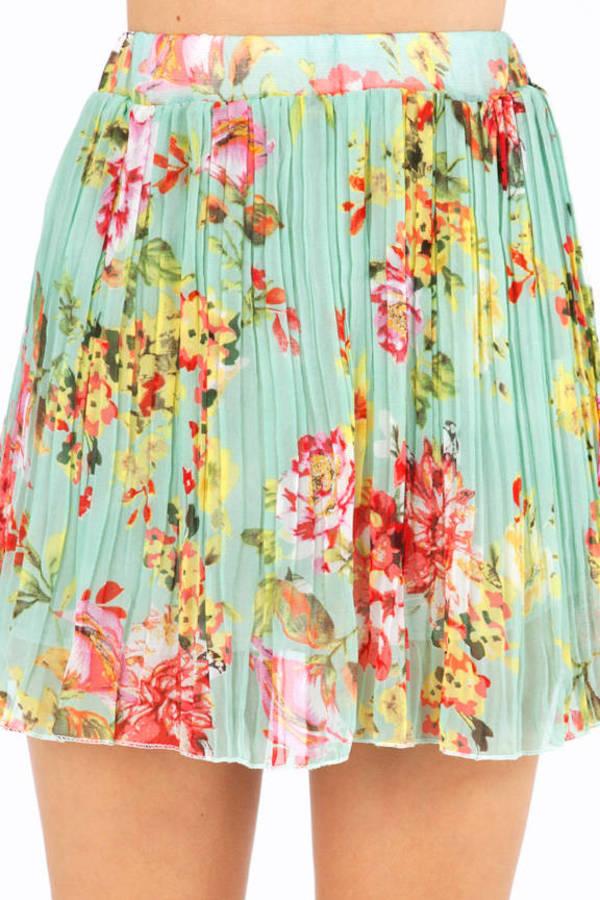 Pleaty Garden Skirt