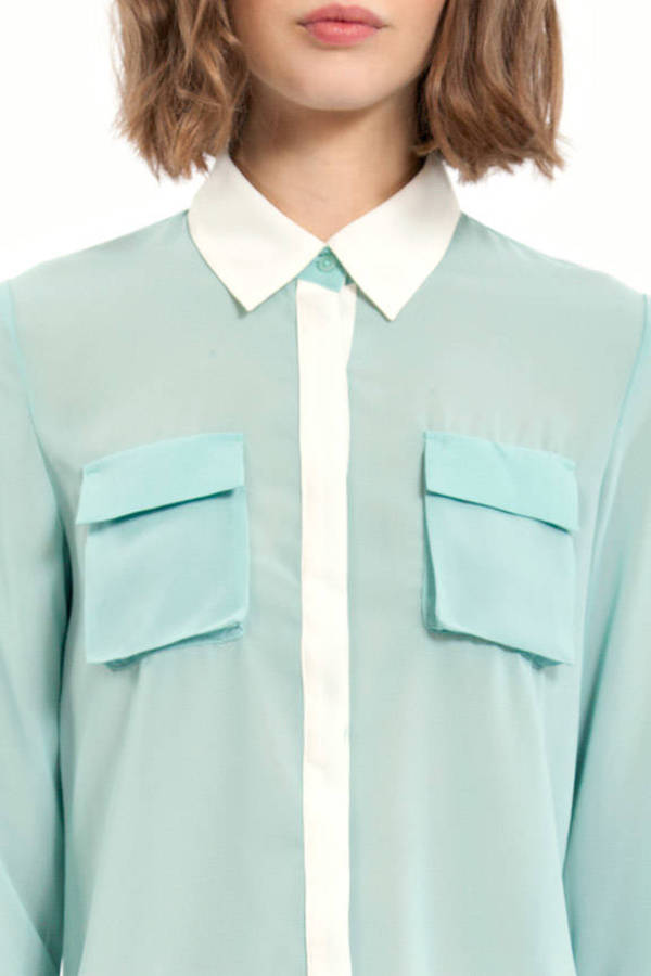 Night Watch Pocket Blouse