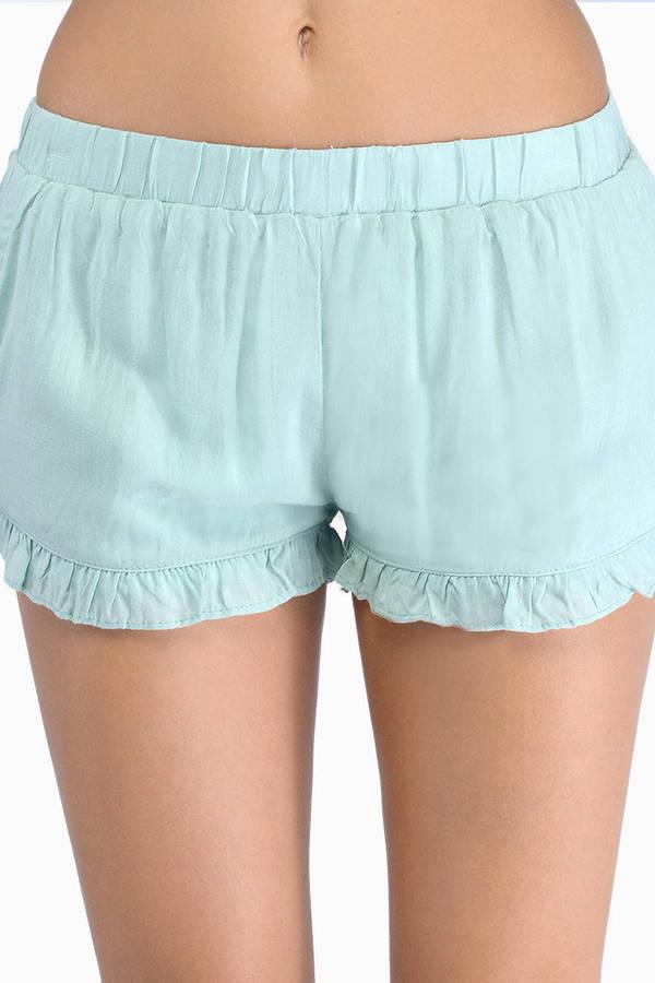 Ruffled Feelings Shorts