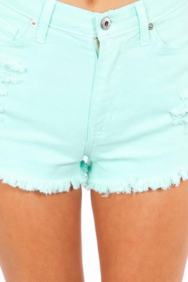 Sugar High Cutoff Shorts