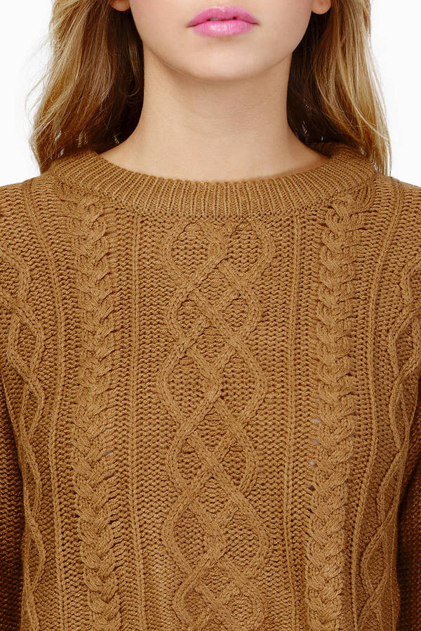 Croppin' It Up Sweater