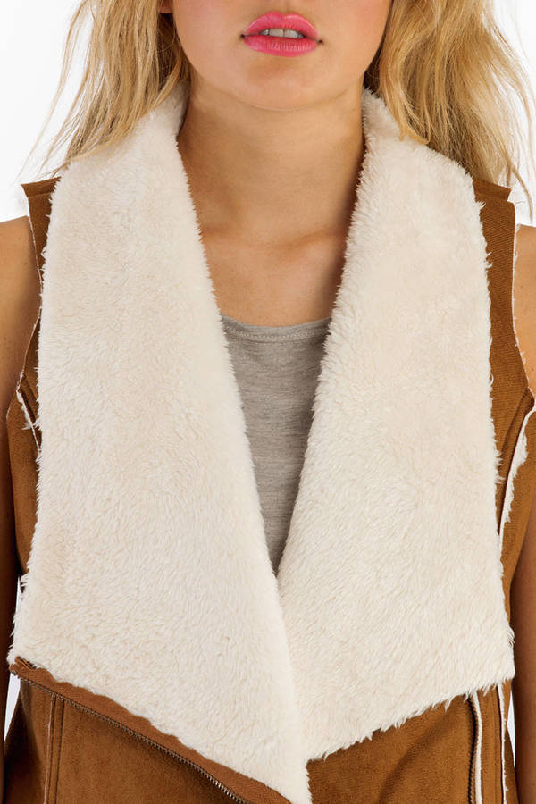 Make Mine A Shearling Vest