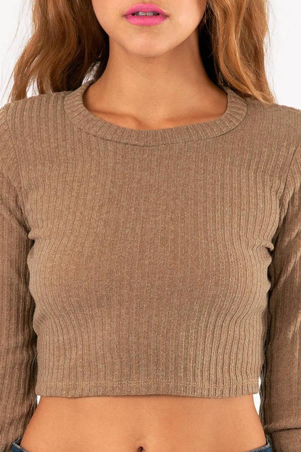 Monica Crop Sweater