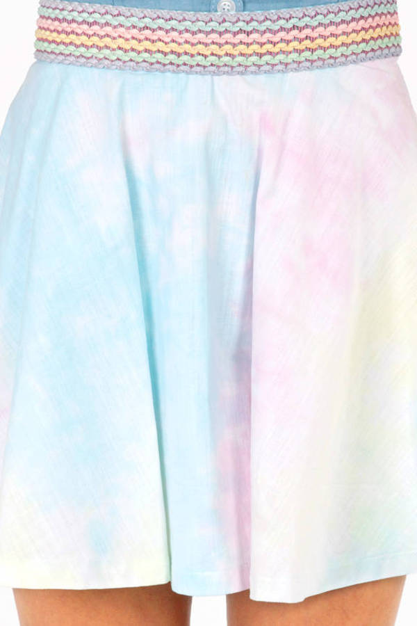 Blast From The Pastel Skirt