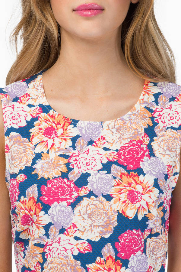 MINKPINK Floral Frenzy Crop Top
