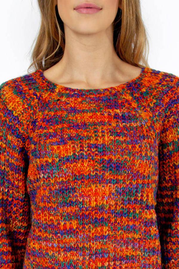 Technicolor Sweater