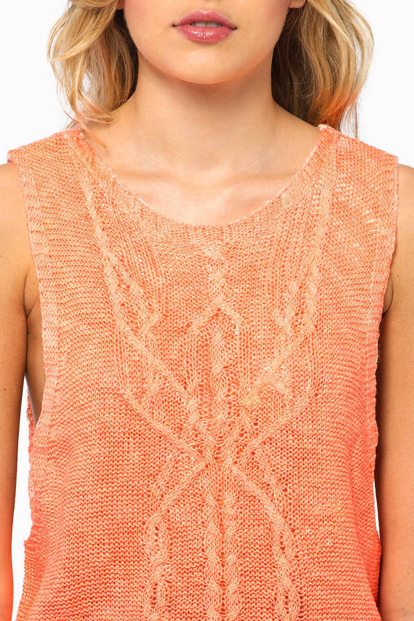 Focello Sleeveless Sweater