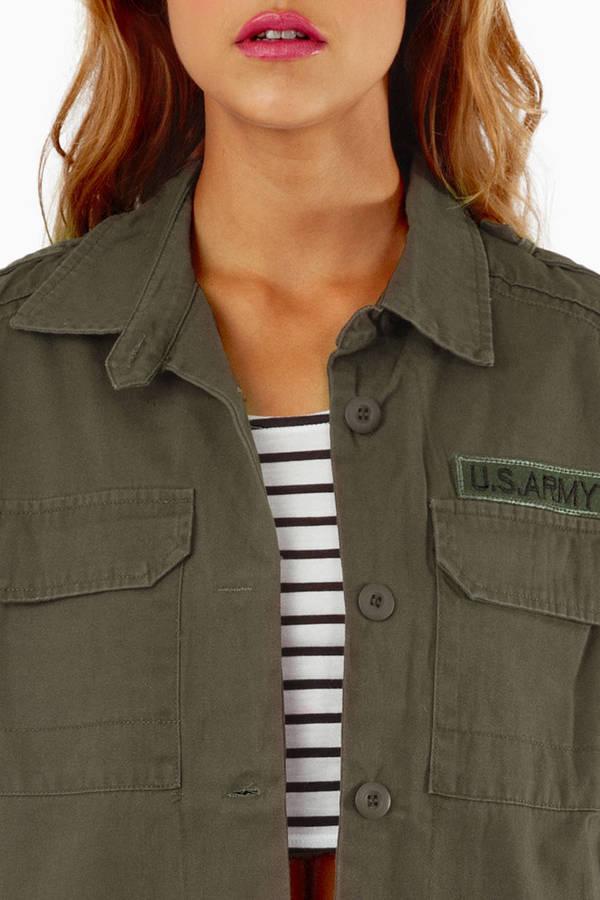 Navie Carolina Cargo Jacket