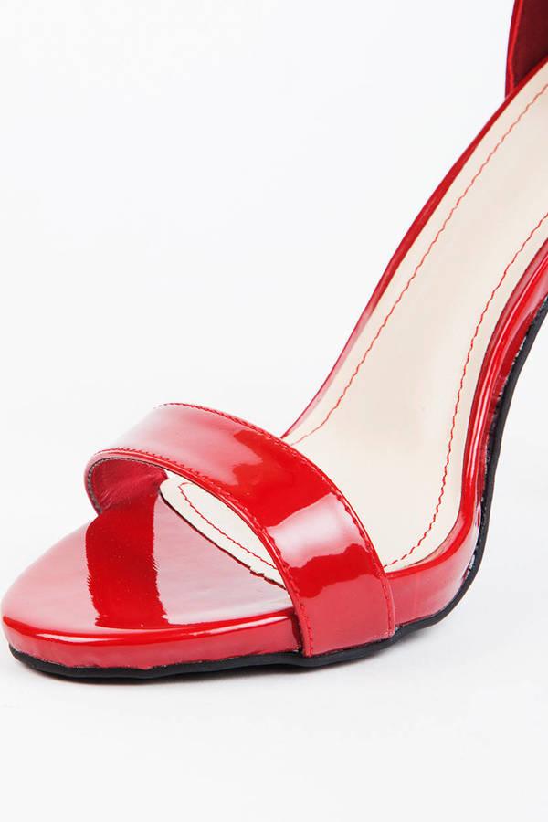 Selina Open Toe Heel