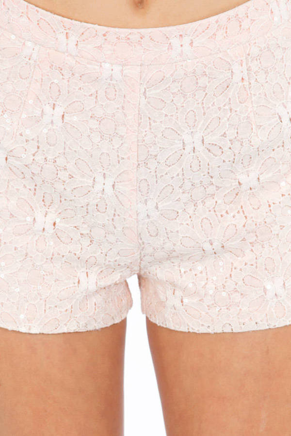 Lady Luck Crochet Shorts