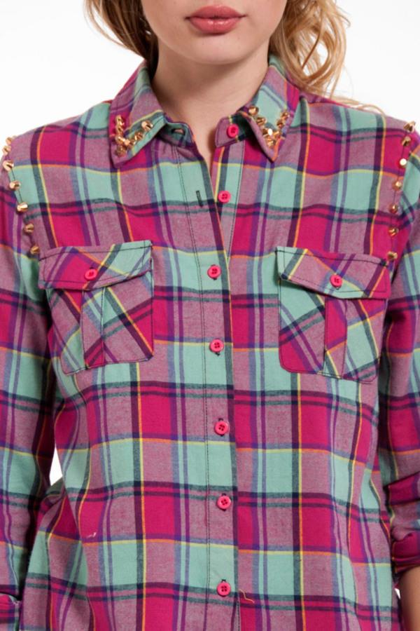 Candy Lane Plaid Shirt