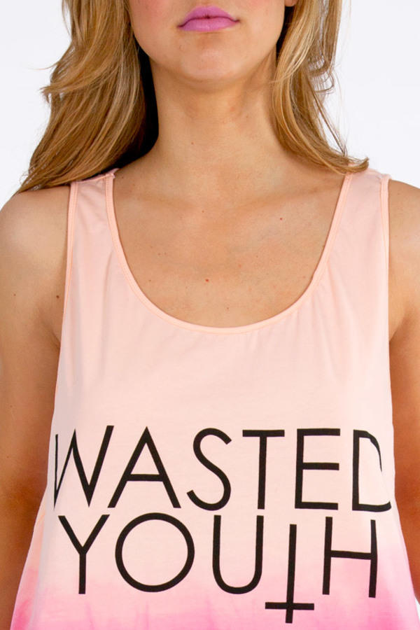 Reverse Wasted Youth Dye Tank