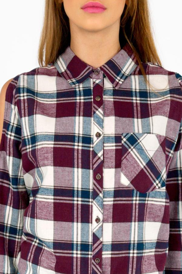 Jack Plaid Button Up Shirt