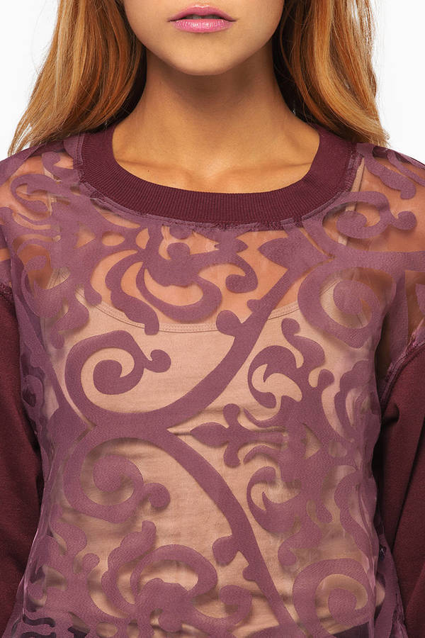 Bora Brocade Sweater