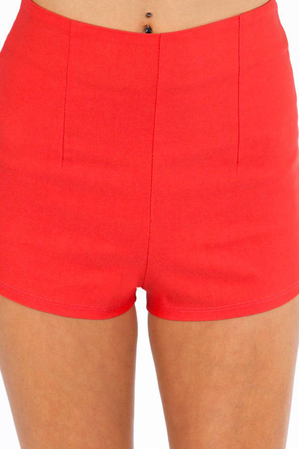 Hire High Waisted Shorts