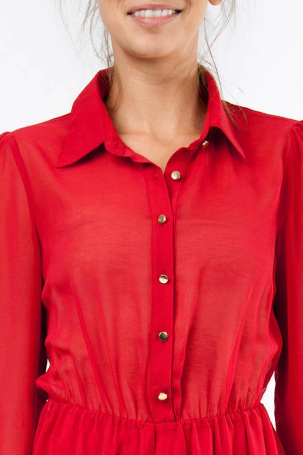 Upton Shirt Dress