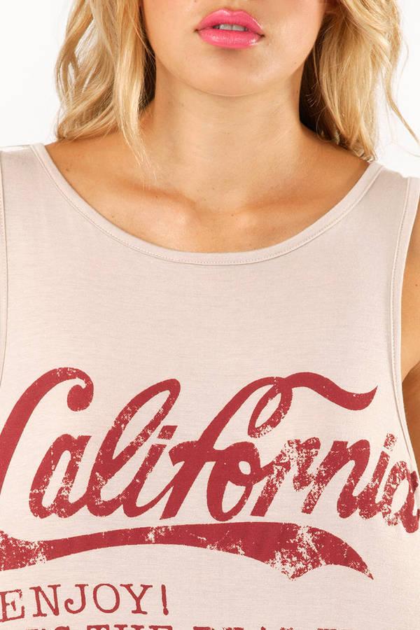 California Lovin' Tank