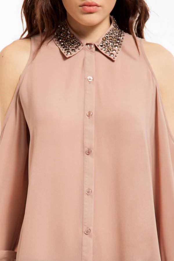 Medallion Button Up Shirt
