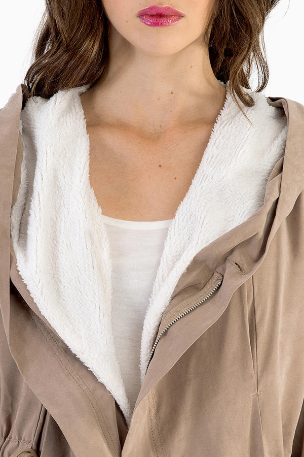 Lush Trina Trench Coat